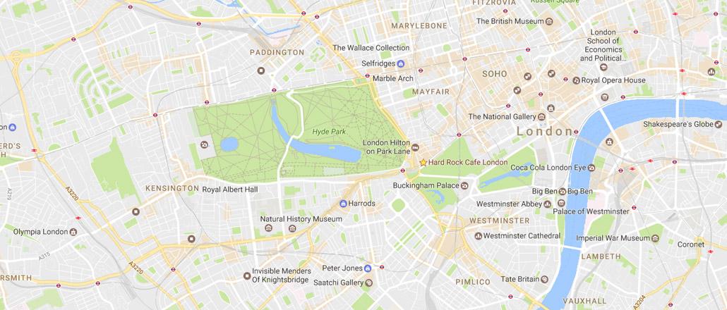 cloud9's London Map