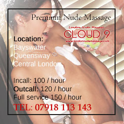 erotic nudist massage in notting hill London