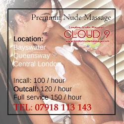 erotic nudist massage in notting hill London